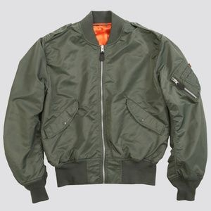 Alpha Industries light bomber jacket